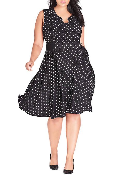18687b7ce5d3b City Chic Plus Size Vintage Veronica Dress