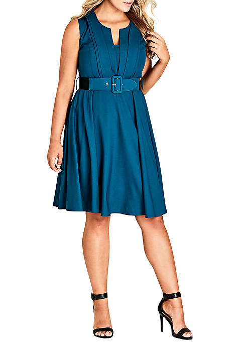 City Chic Plus Size Vintage Veronica Dress