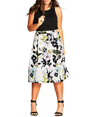 1b282188d5 City Chic. City Chic Plus Size Art Darling Dress