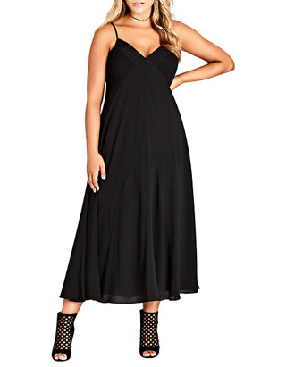 Plus Size Boho Chic Maxi Dress