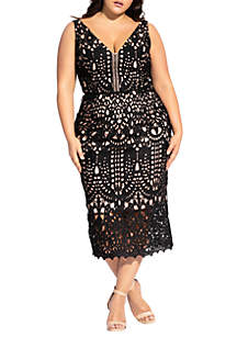 782ea1cea4e ... City Chic Plus Size All Class Dress