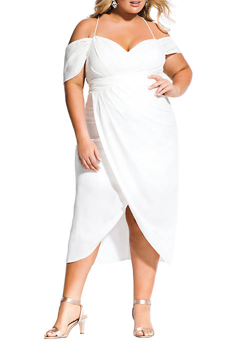 City Chic Plus Size Entwine Maxi Dress