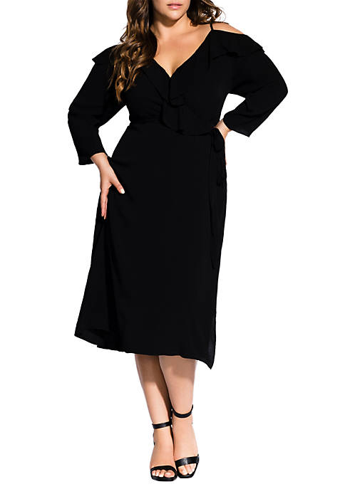 Plus Size Paris Date Dress