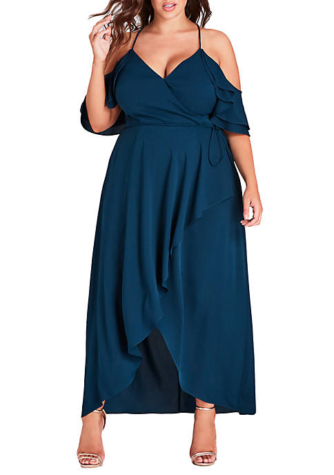 City Chic Plus Size Miss Jessica Maxi Dress