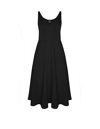 City Chic Plus Size Black A Line Dress | belk