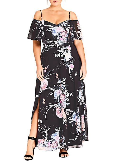 Plus Size Flourish Maxi Dress