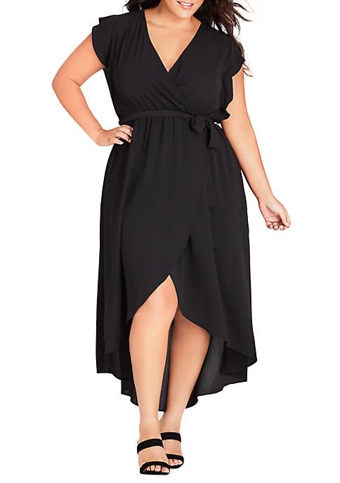 City Chic Plus Size Lolita Maxi Dress
