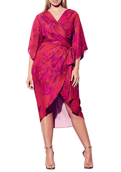 Plus Size Mystic Fever Maxi Dress