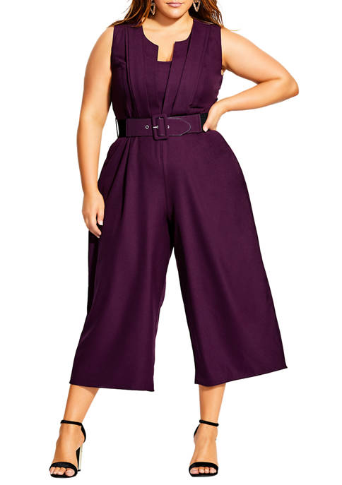 City Chic Plus Size Veronica Jumpsuit
