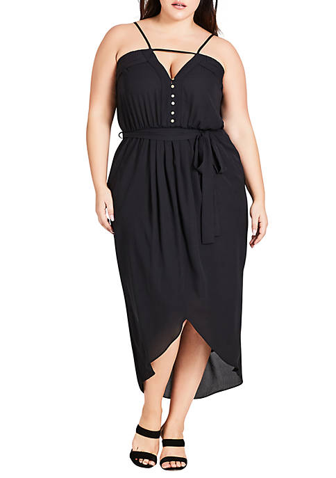 City Chic Plus Size Free Love Dress