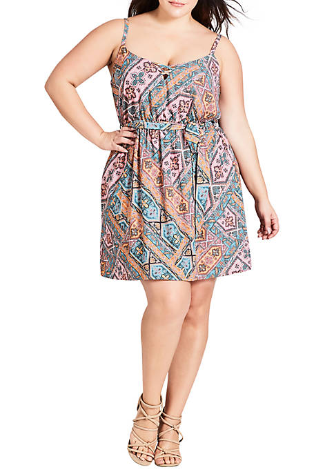 Plus Size Gypsy Tunic