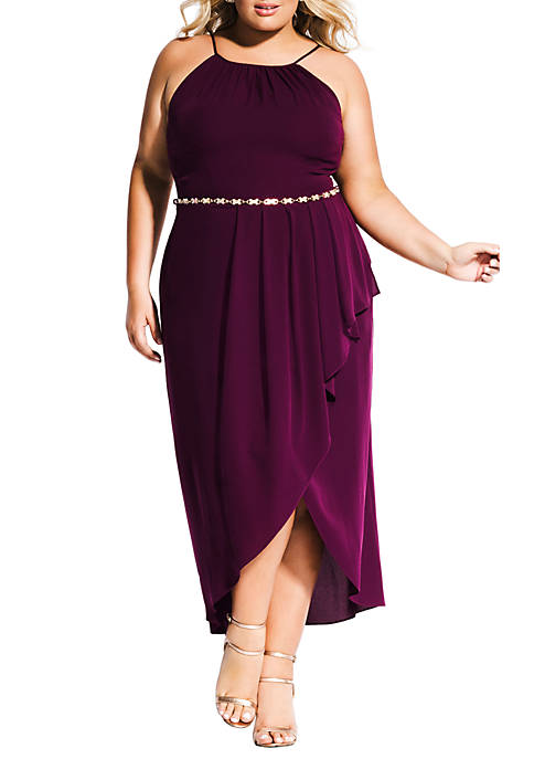 City Chic Plus SIze Lovestruck Maxi Dress