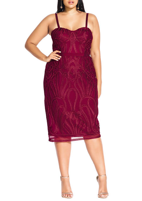 City Chic Plus Size Antonia Dress