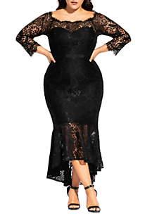 City Chic Plus Size Estella Maxi Gown