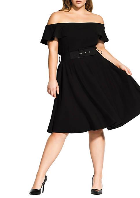 Plus Size Little Flirt Dress