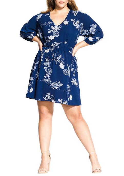 City Chic Plus Size Sapphire Tunic
