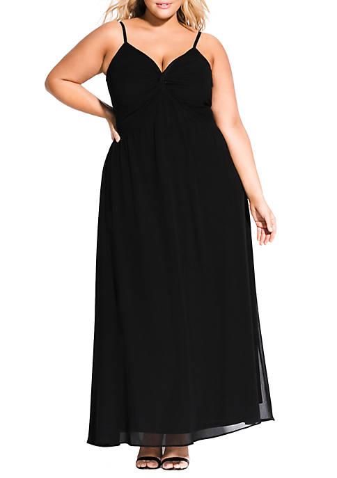 City Chic Plus Size Ambrosia Maxi Dress