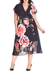 71089af44a ... City Chic Plus Size Chelsea Show Maxi Dress