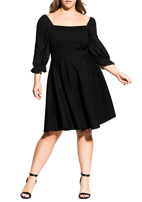 City Chic Plus Size Elba Dress