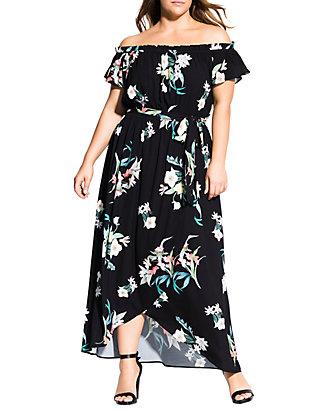 6797133f34 City Chic. City Chic Plus Size Donatella Maxi Dress