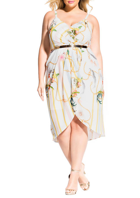 City Chic Plus Size Primavera Dress