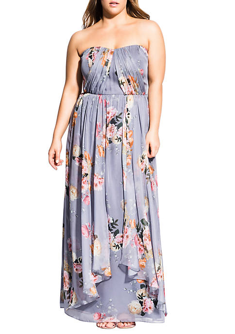 City Chic Plus Size Whimsy Florence Maxi Dress