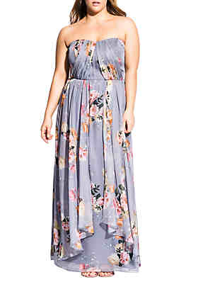 3d24481e55 City Chic Plus Size Whimsy Florence Maxi Dress ...