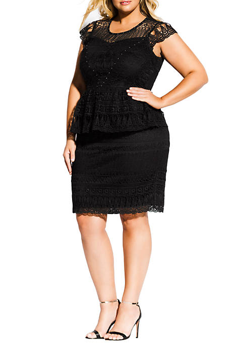 City Chic Plus Size Bellissima Dress