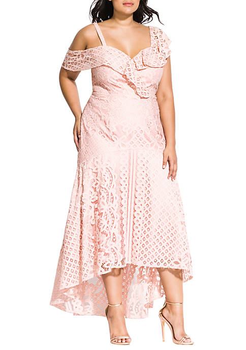 City Chic Plus Size Femme Fatale Maxi Dress