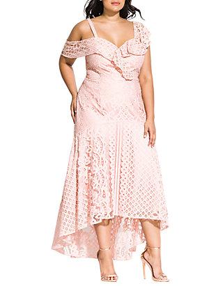 Plus Femme DressBelk Size Chic Fatale Maxi City OX0P8wnk