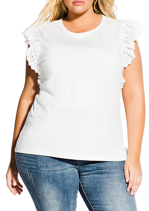 Plus Size Sweetie Pie Top