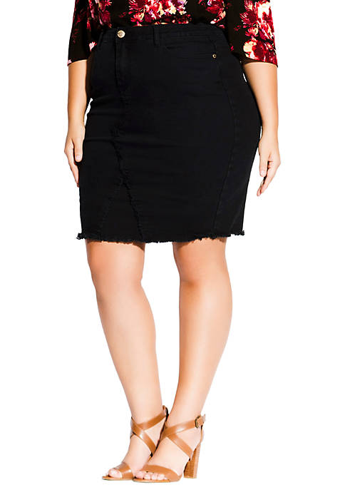 Plus Size Untaimed Skirt