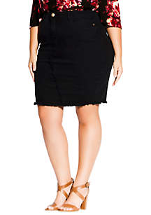 City Chic Plus Size Untaimed Skirt