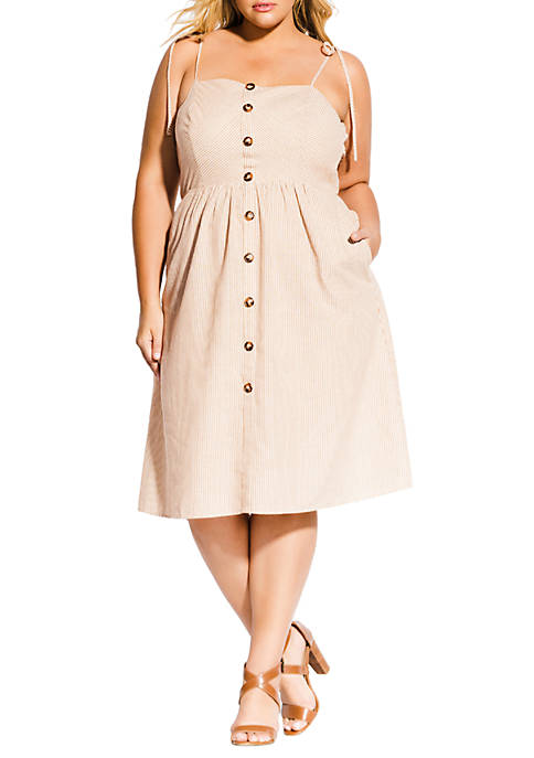 City Chic Plus Size Riviera Dress