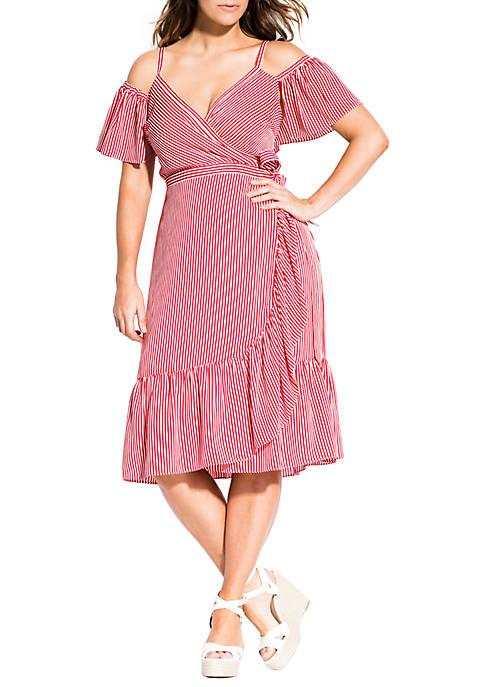 Plus Size Stripe Riviera Dress
