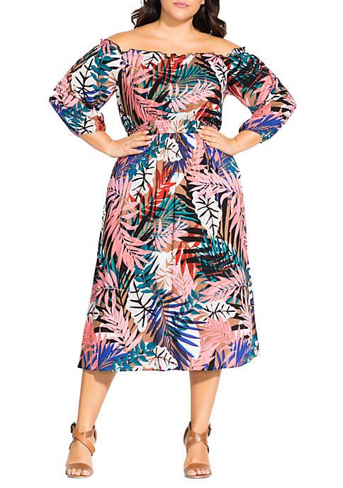 Plus Size Copacabana Dress