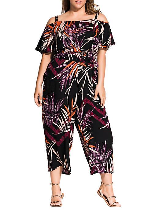 City Chic Plus Size Bahama Jumpsuit