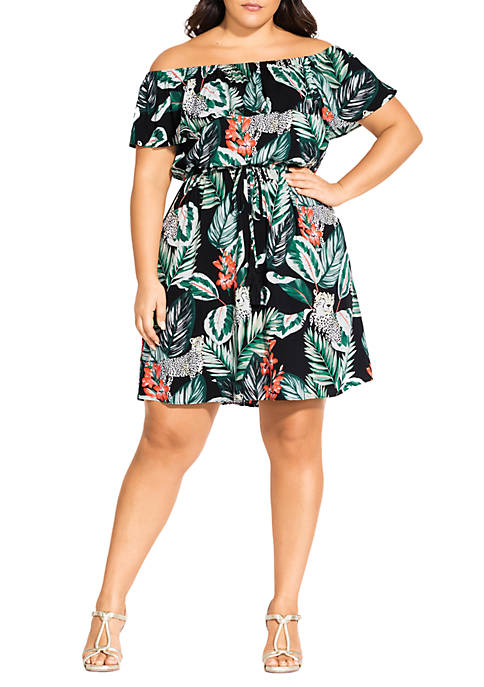 Plus Size Pacifica Dress