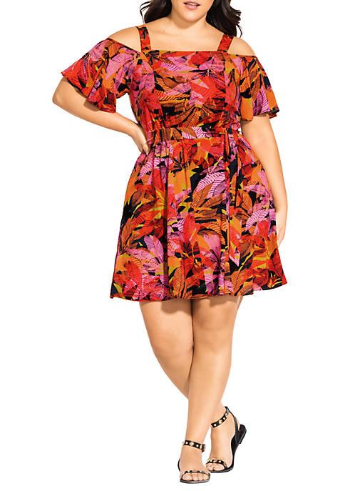 Plus Size Sunrise Dress