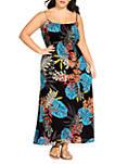Plus Size Maxi Tahiti Dress