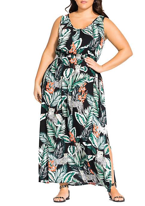 Plus Size Maxi Pacifica Dress