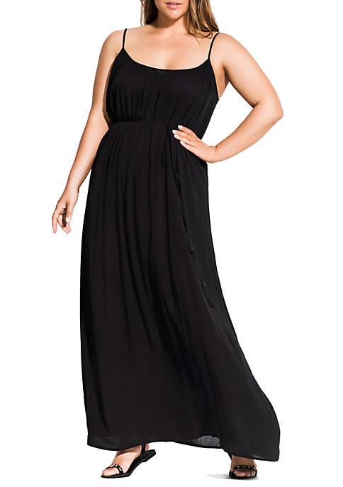 City Chic Plus Size Maxi Paradise Dress