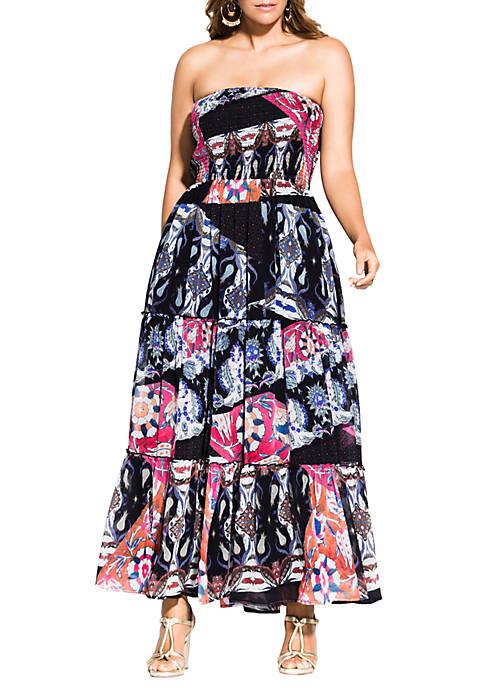 Plus Size Moody Bilbao Dress