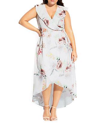 Plus Size Day Dream Maxi Dress