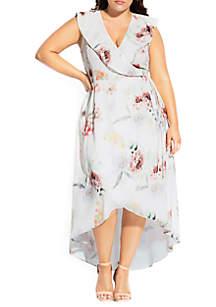City Chic Plus Size Day Dream Maxi Dress