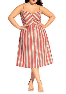 City Chic Plus Size Take Me Away Dress