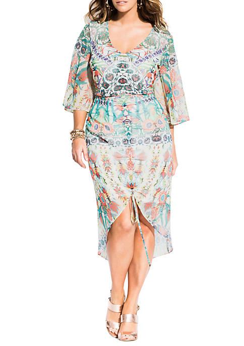 Plus Size Budapest Dress