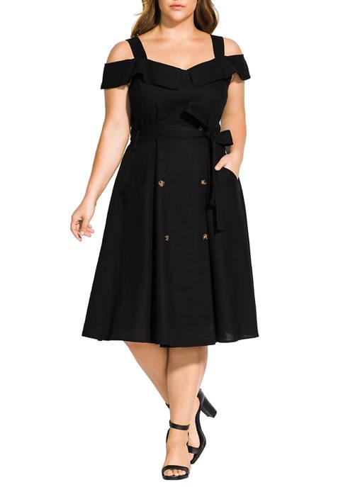 Plus Size  Commando Dress