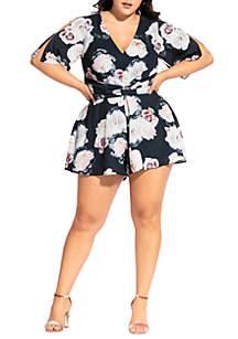 0cd9933b5b573 ... City Chic Plus Size Austin Floral Playsuit
