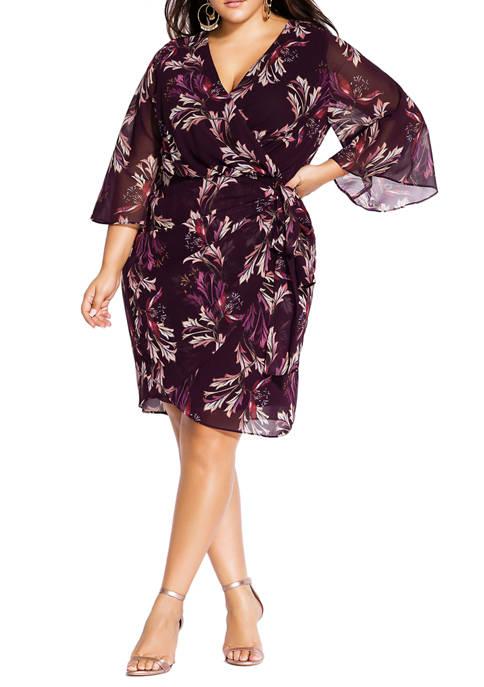 Plus Size Opulent Vine Dress